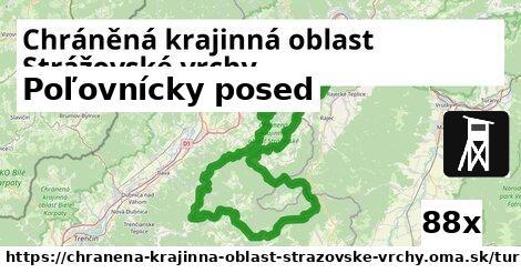 ilustračný obrázok k Poľovnícky posed, Chráněná krajinná oblast Strážovské vrchy