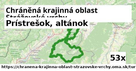prístrešok, altánok v Chráněná krajinná oblast Strážovské vrchy