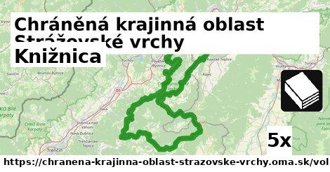 ilustračný obrázok k Knižnica, Chráněná krajinná oblast Strážovské vrchy
