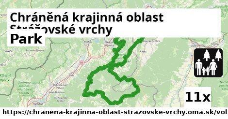 park v Chráněná krajinná oblast Strážovské vrchy
