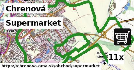 supermarket v Chrenová