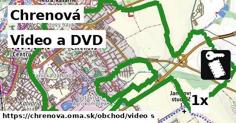 video a DVD v Chrenová