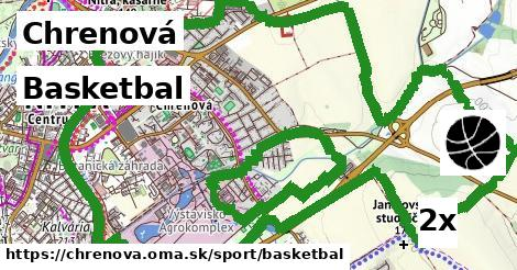 basketbal v Chrenová