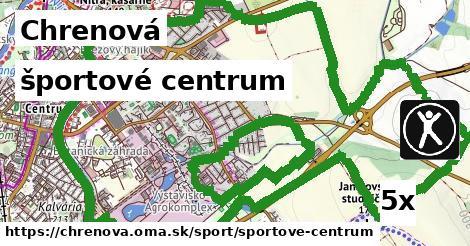 športové centrum v Chrenová