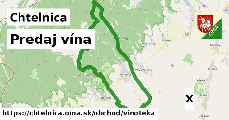 predaj vína v Chtelnica
