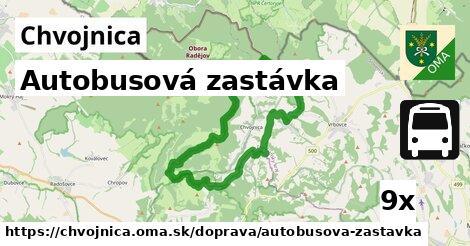 ilustračný obrázok k Autobusová zastávka, Chvojnica