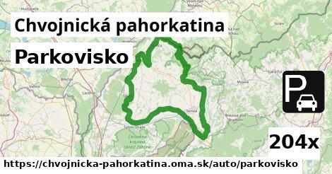 ilustračný obrázok k Parkovisko, Chvojnická pahorkatina