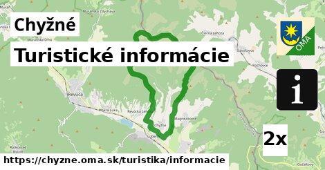ilustračný obrázok k Turistické informácie, Chyžné