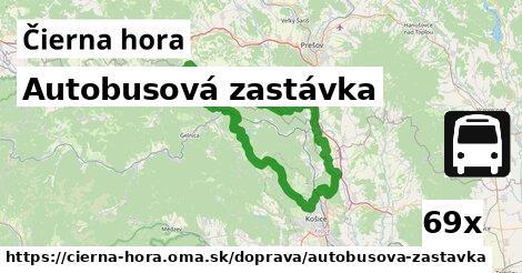 ilustračný obrázok k Autobusová zastávka, Čierna hora