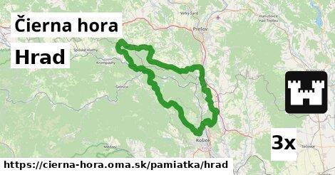 ilustračný obrázok k Hrad, Čierna hora