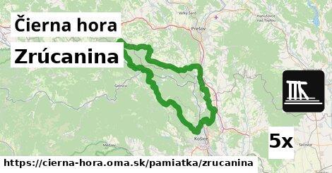 ilustračný obrázok k Zrúcanina, Čierna hora