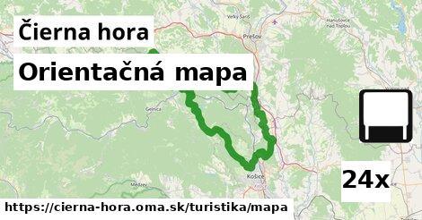 ilustračný obrázok k Orientačná mapa, Čierna hora