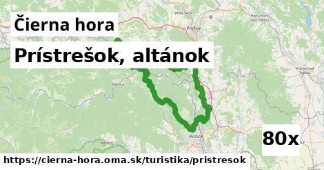 ilustračný obrázok k Prístrešok, altánok, Čierna hora