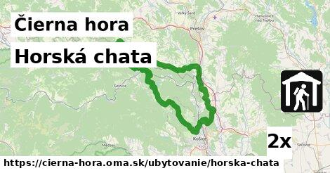 ilustračný obrázok k Horská chata, Čierna hora