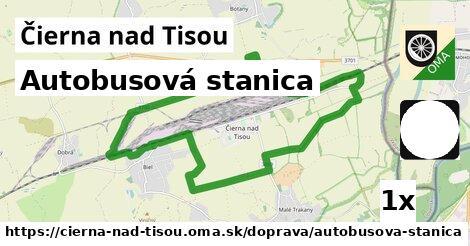 ilustračný obrázok k Autobusová stanica, Čierna nad Tisou