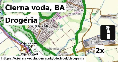 ilustračný obrázok k Drogéria, Čierna voda, BA