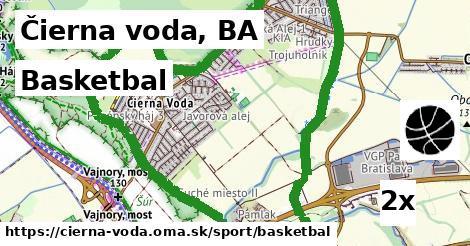 basketbal v Čierna voda, BA