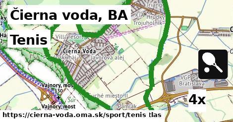 ilustračný obrázok k Tenis, Čierna voda, BA