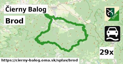ilustračný obrázok k Brod, Čierny Balog