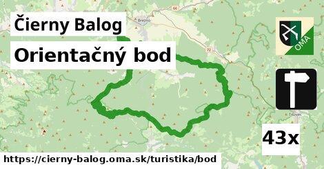 orientačný bod v Čierny Balog
