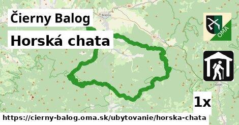 horská chata v Čierny Balog