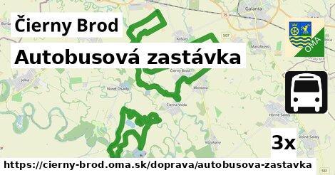 ilustračný obrázok k Autobusová zastávka, Čierny Brod