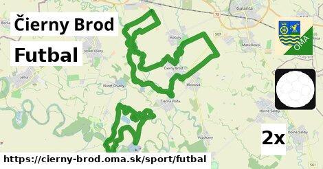 ilustračný obrázok k Futbal, Čierny Brod