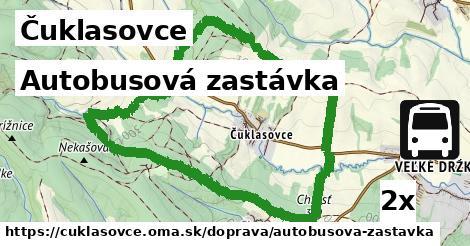 ilustračný obrázok k Autobusová zastávka, Čuklasovce