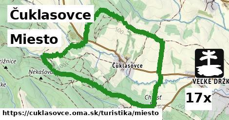 ilustračný obrázok k Miesto, Čuklasovce