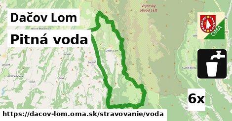 pitná voda v Dačov Lom