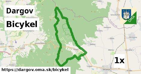 bicykel v Dargov