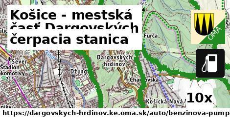 ilustračný obrázok k čerpacia stanica, Košice - mestská časť Dargovských hrdinov