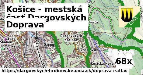 doprava v Košice - mestská časť Dargovských hrdinov