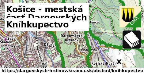 kníhkupectvo v Košice - mestská časť Dargovských hrdinov