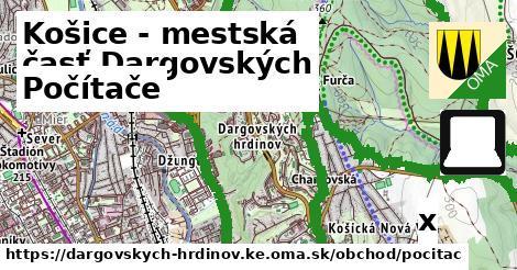 počítače v Košice - mestská časť Dargovských hrdinov