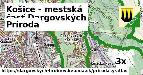 príroda v Košice - mestská časť Dargovských hrdinov