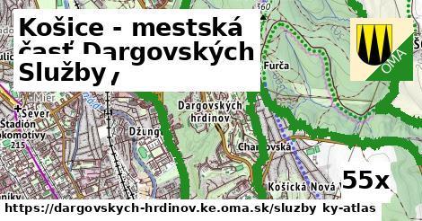 služby v Košice - mestská časť Dargovských hrdinov