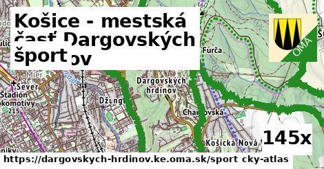 šport v Košice - mestská časť Dargovských hrdinov