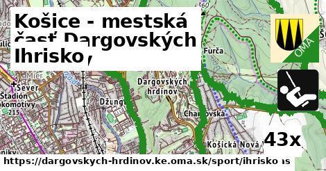 ihrisko v Košice - mestská časť Dargovských hrdinov