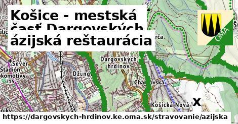 ázijská reštaurácia v Košice - mestská časť Dargovských hrdinov