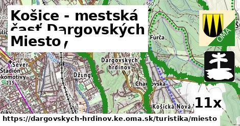 miesto v Košice - mestská časť Dargovských hrdinov