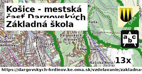základná škola v Košice - mestská časť Dargovských hrdinov