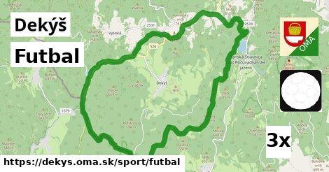 futbal v Dekýš