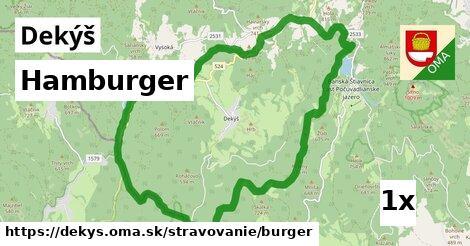 hamburger v Dekýš