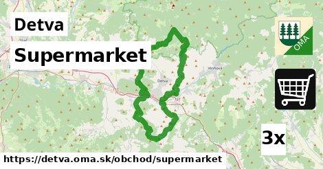 supermarket v Detva