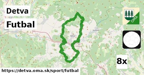 Futbal, Detva