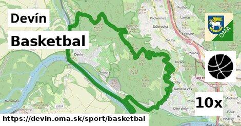 basketbal v Devín