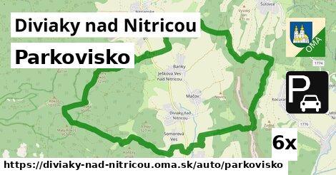 ilustračný obrázok k Parkovisko, Diviaky nad Nitricou
