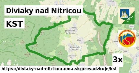 ilustračný obrázok k KST, Diviaky nad Nitricou