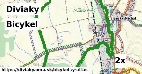 bicykel v Diviaky